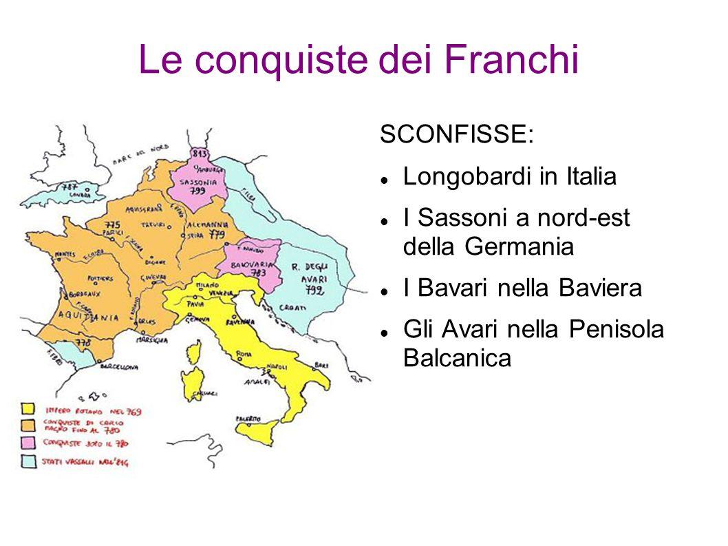 Le conquiste dei Franchi