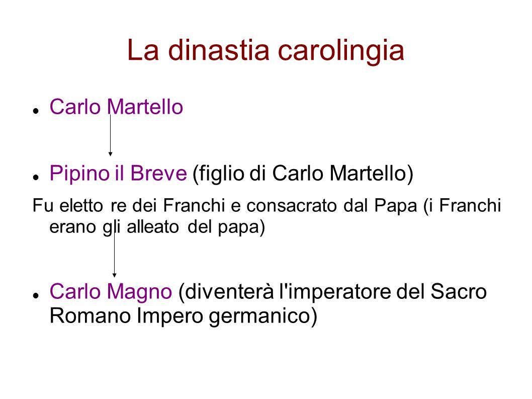 La dinastia carolingia