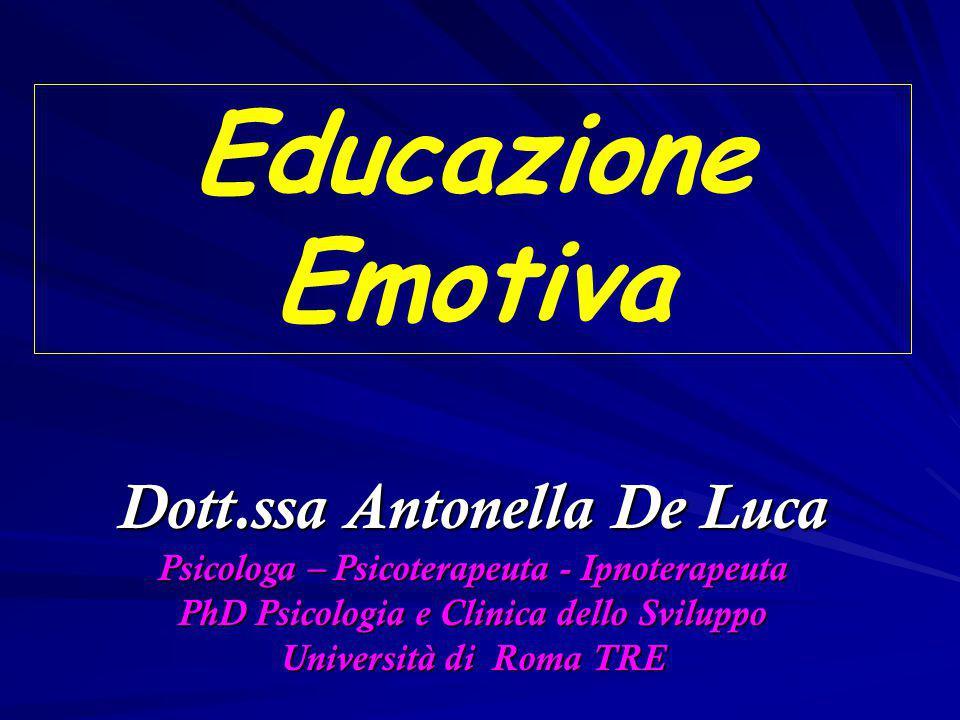 Educazione Emotiva Dott.ssa Antonella De Luca
