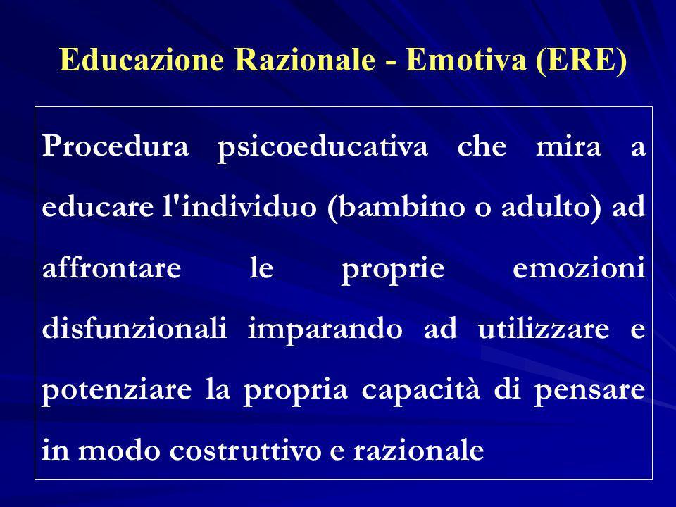 Educazione Razionale - Emotiva (ERE)