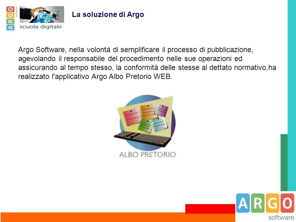 La soluzione di Argo