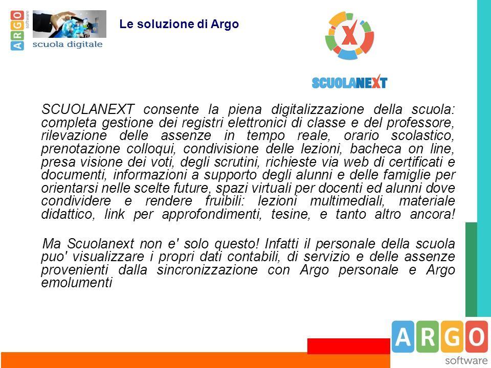 Le soluzione di Argo