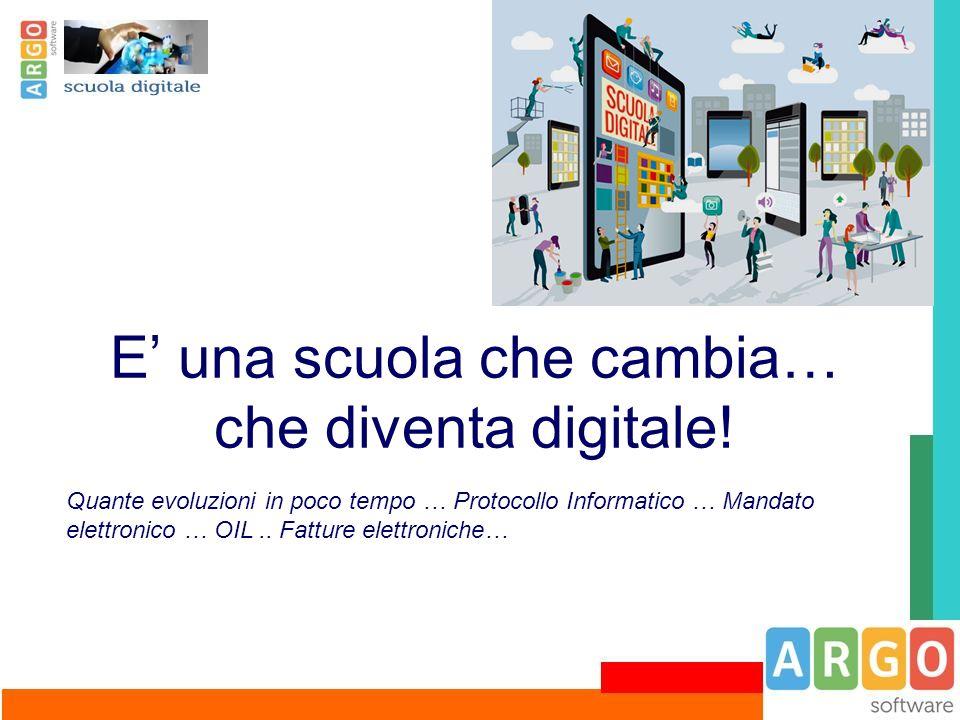 E' una scuola che cambia… che diventa digitale!