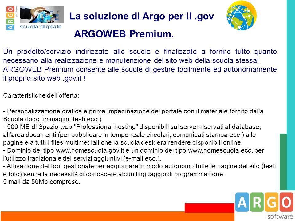 La soluzione di Argo per il .gov ARGOWEB Premium.