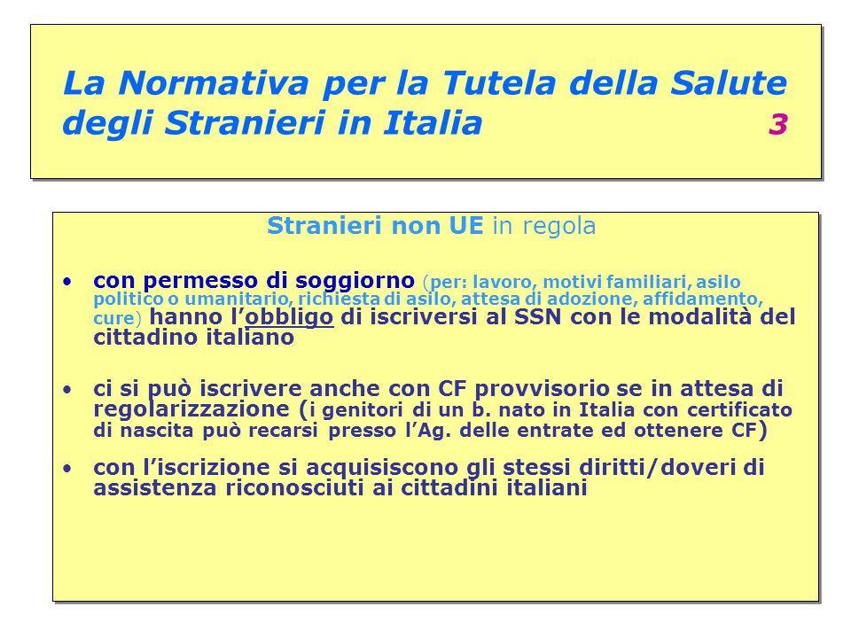 La Normativa per la Tutela della Salute degli Stranieri in Italia 3