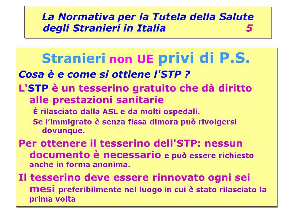 La Normativa per la Tutela della Salute degli Stranieri in Italia 5