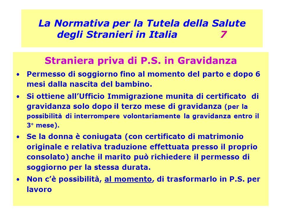 La Normativa per la Tutela della Salute degli Stranieri in Italia 7