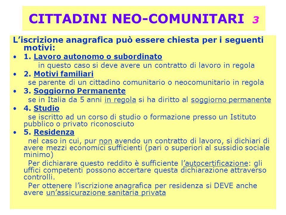 CITTADINI NEO-COMUNITARI 3