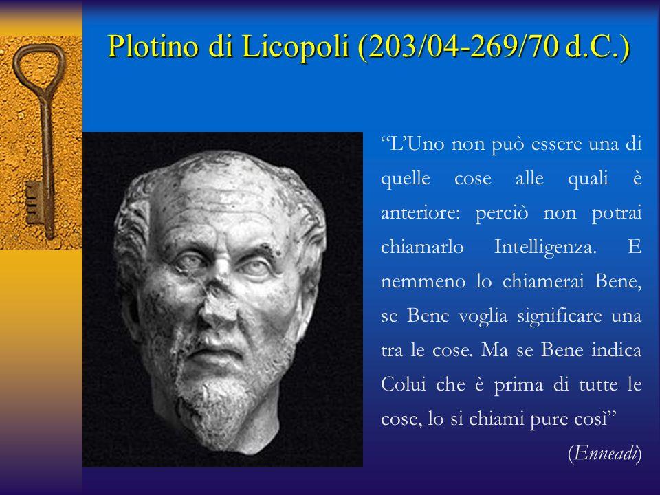 Plotino di Licopoli (203/04-269/70 d.C.)