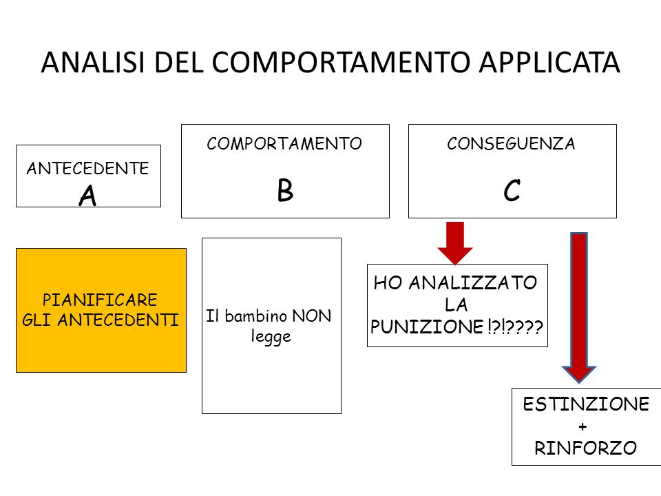 ANALISI DEL COMPORTAMENTO APPLICATA