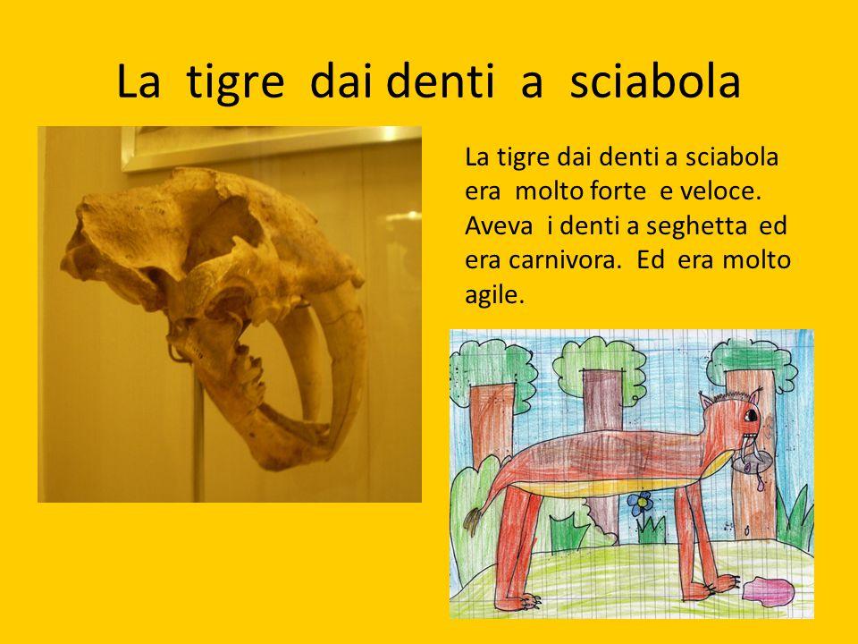 La tigre dai denti a sciabola