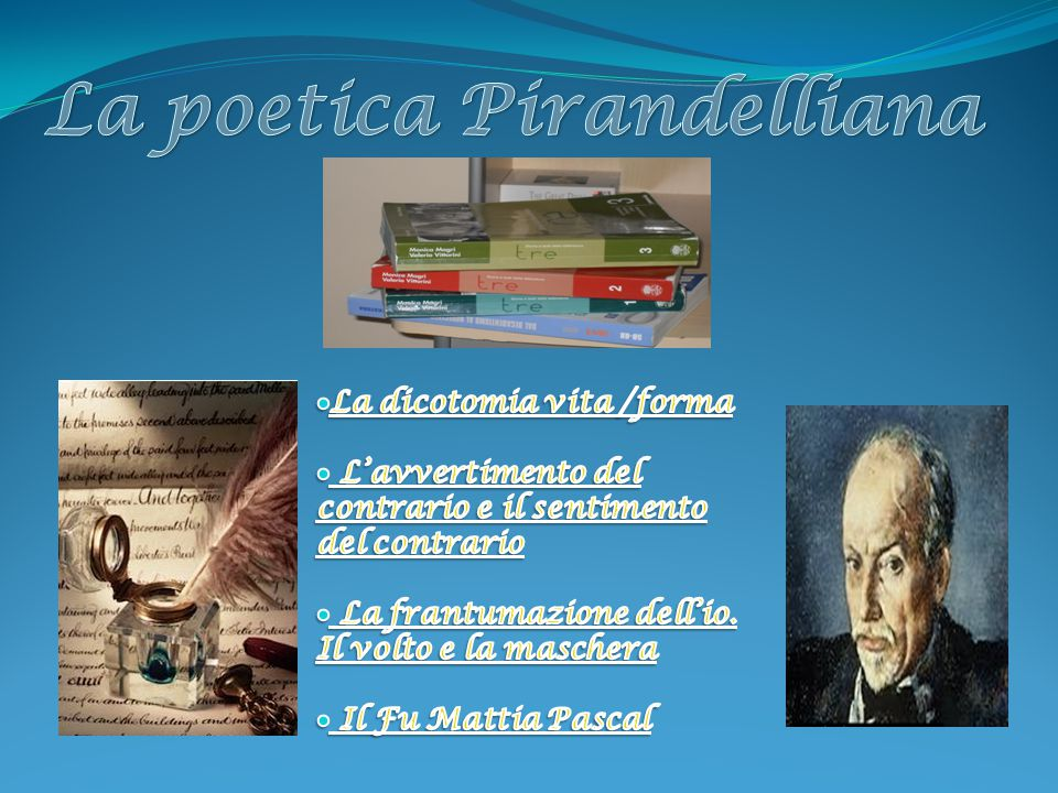 La poetica Pirandelliana