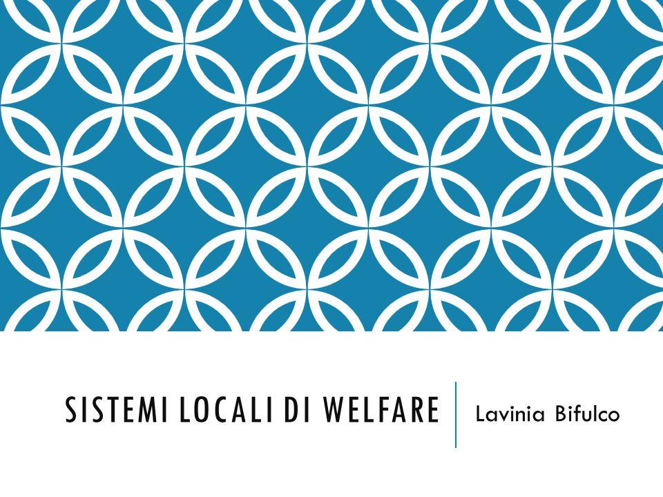 Sistemi locali di welfare