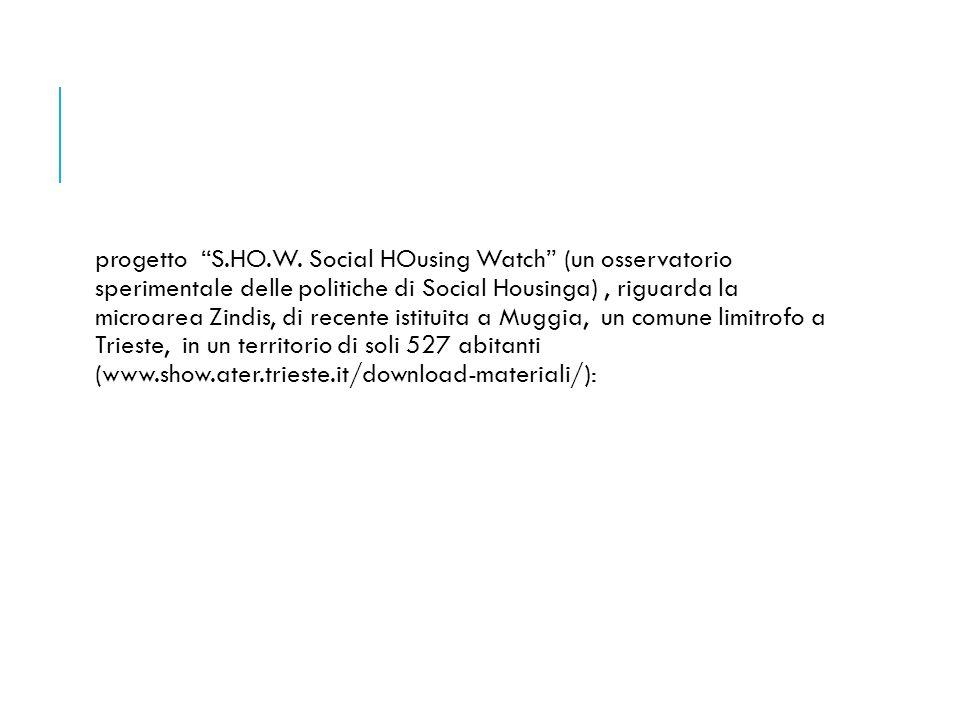 progetto S.HO.W.