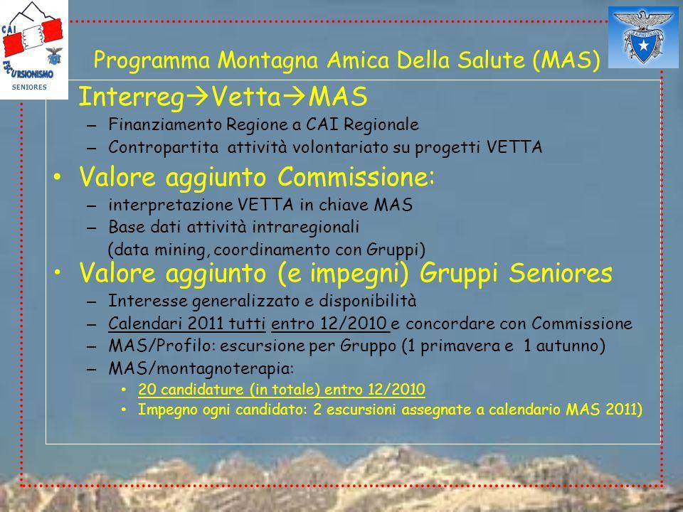 Programma Montagna Amica Della Salute (MAS)