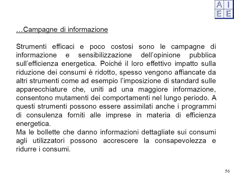 …Campagne di informazione