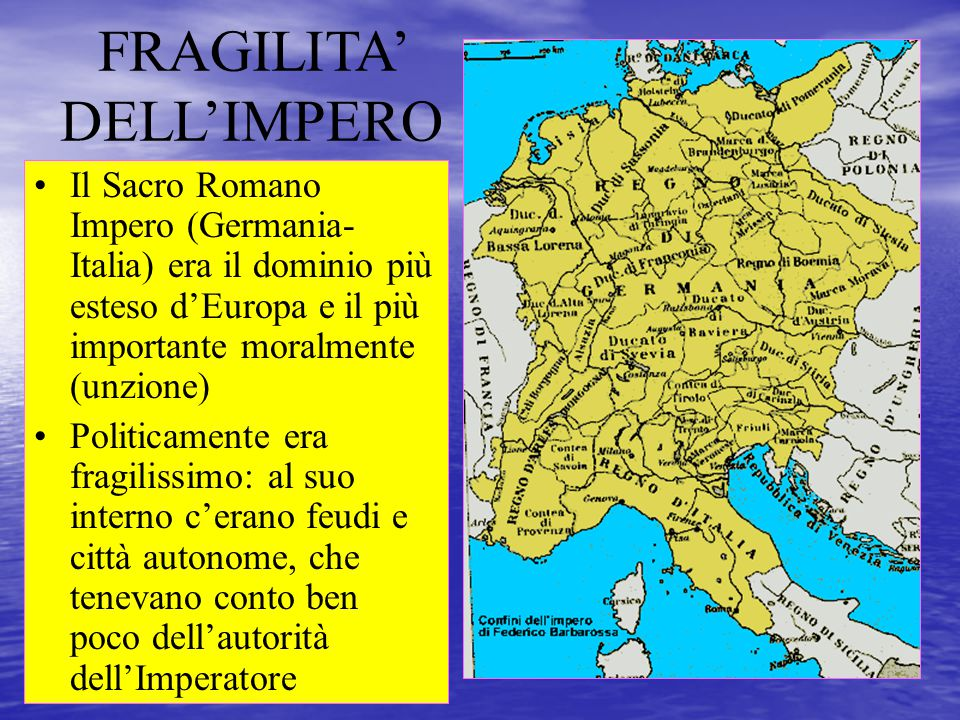 FRAGILITA' DELL'IMPERO
