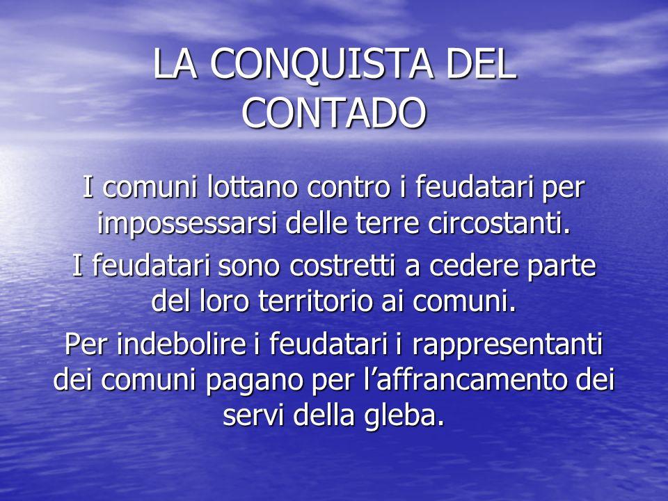 LA CONQUISTA DEL CONTADO