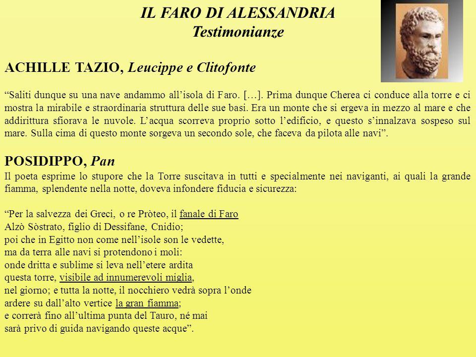 IL FARO DI ALESSANDRIA Testimonianze
