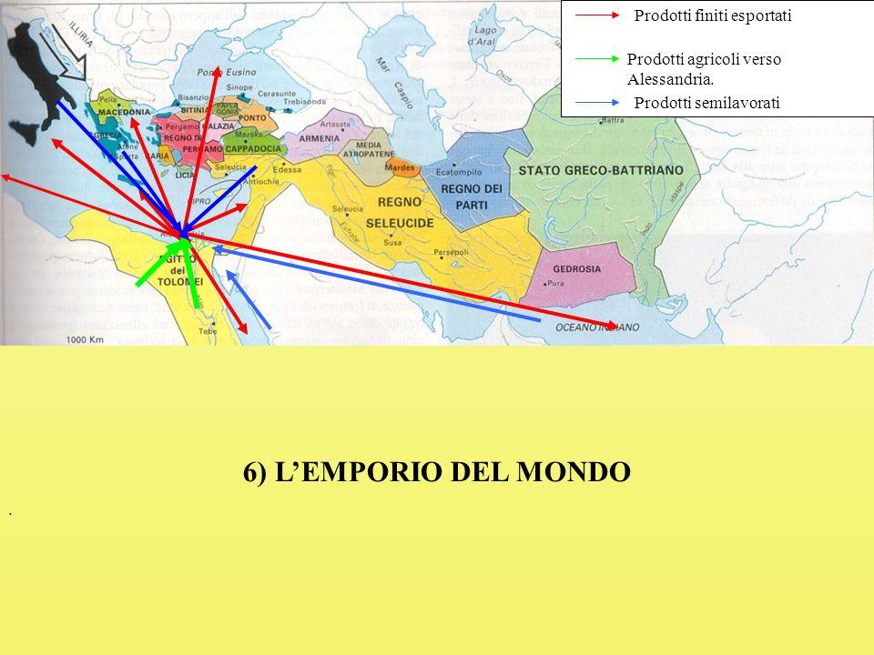 6) L'EMPORIO DEL MONDO Prodotti finiti esportati
