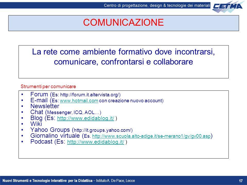Strumenti per comunicare