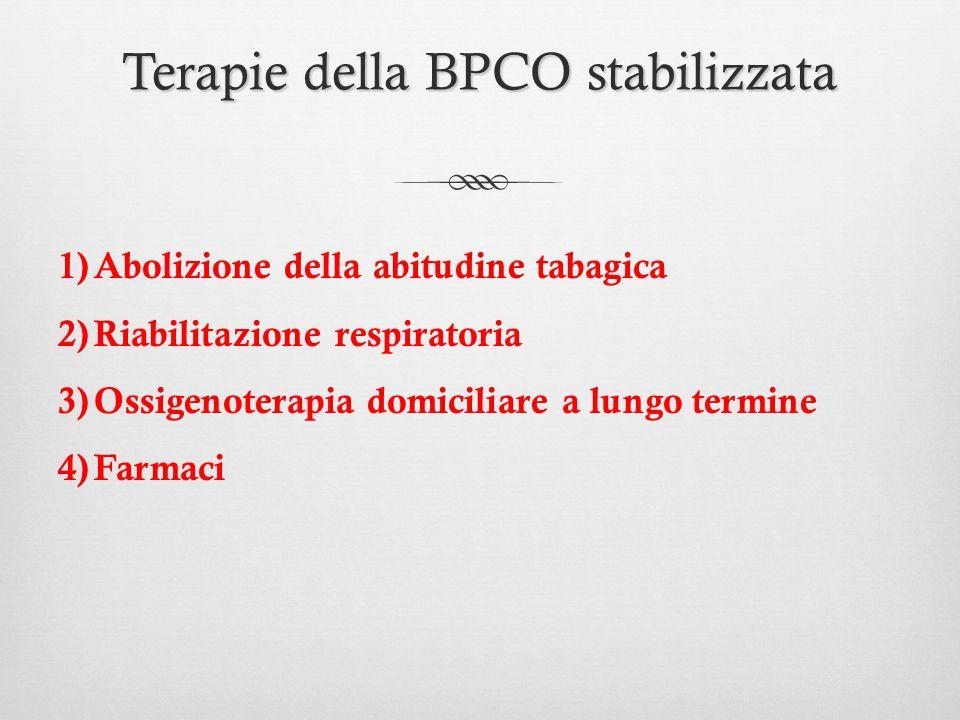 Terapie della BPCO stabilizzata