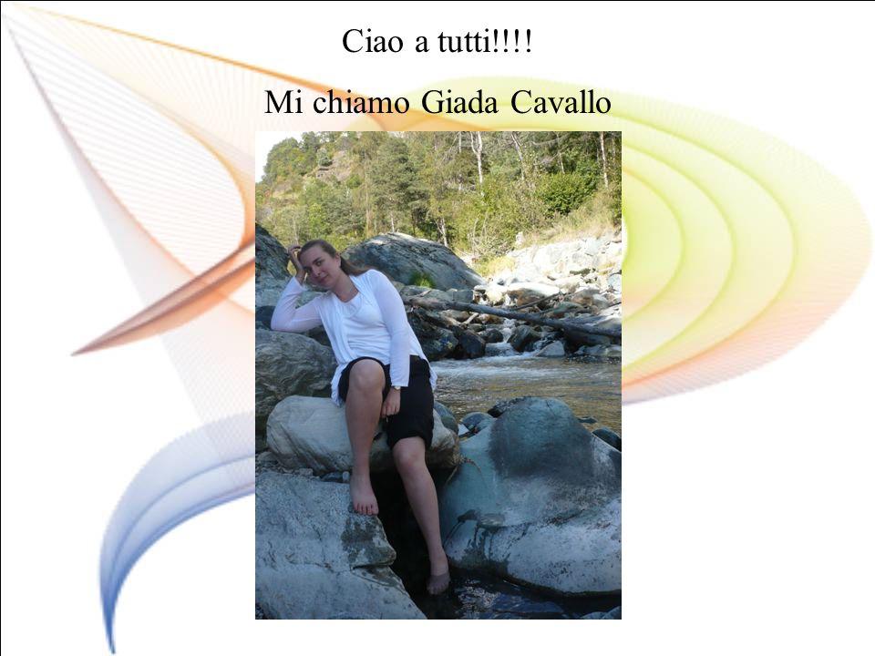 Mi chiamo Giada Cavallo