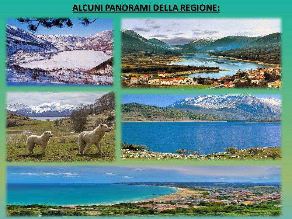 ALCUNI PANORAMI DELLA REGIONE: