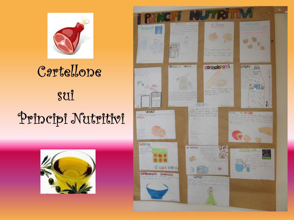 Cartellone sui Principi Nutritivi