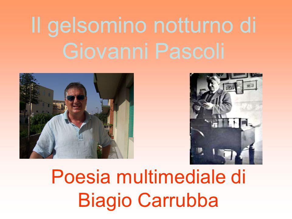 Il gelsomino notturno di Giovanni Pascoli