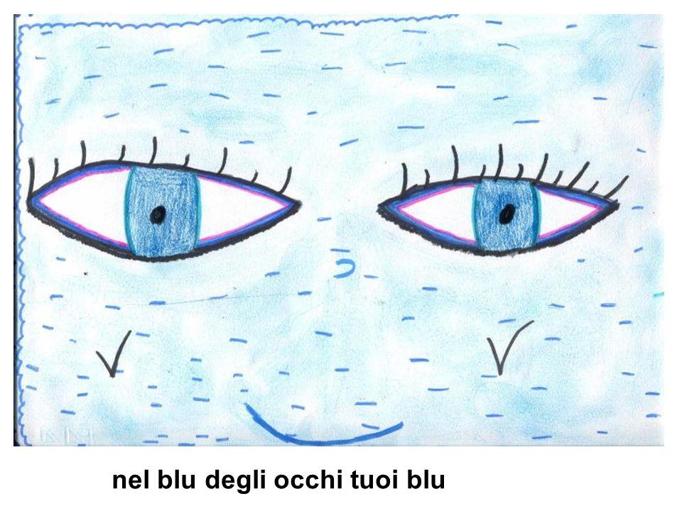 nel blu degli occhi tuoi blu