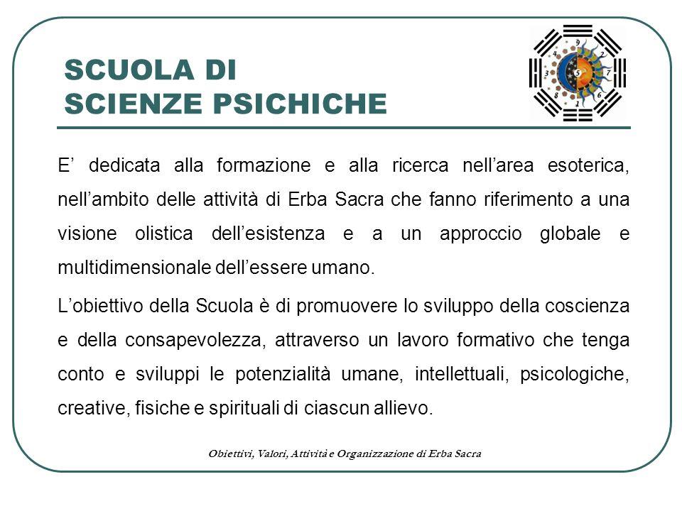 SCUOLA DI SCIENZE PSICHICHE