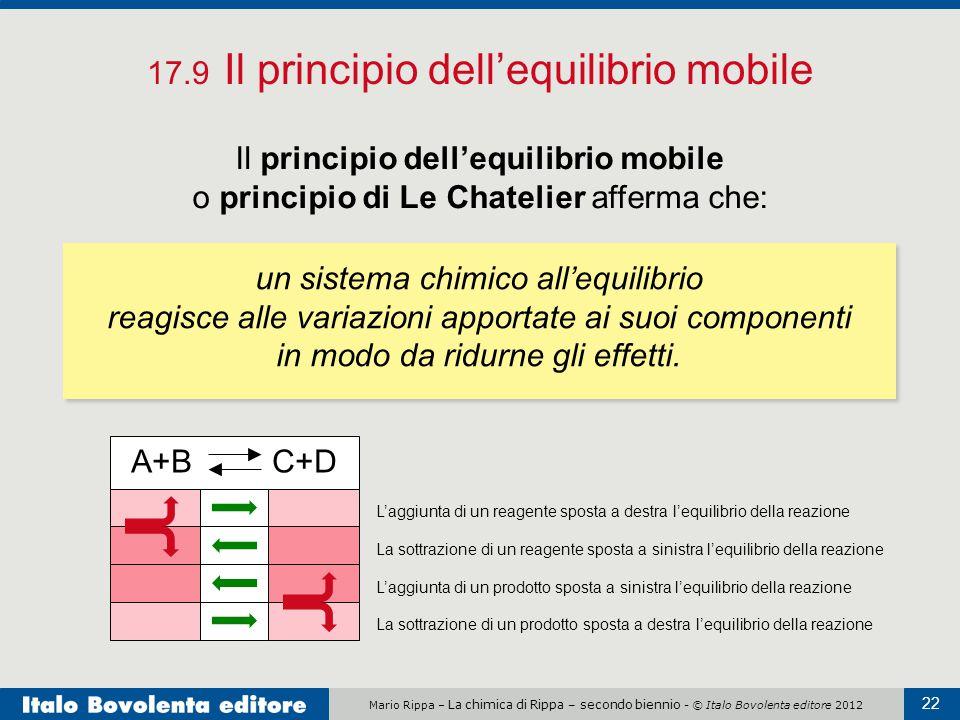17.9 Il principio dell'equilibrio mobile
