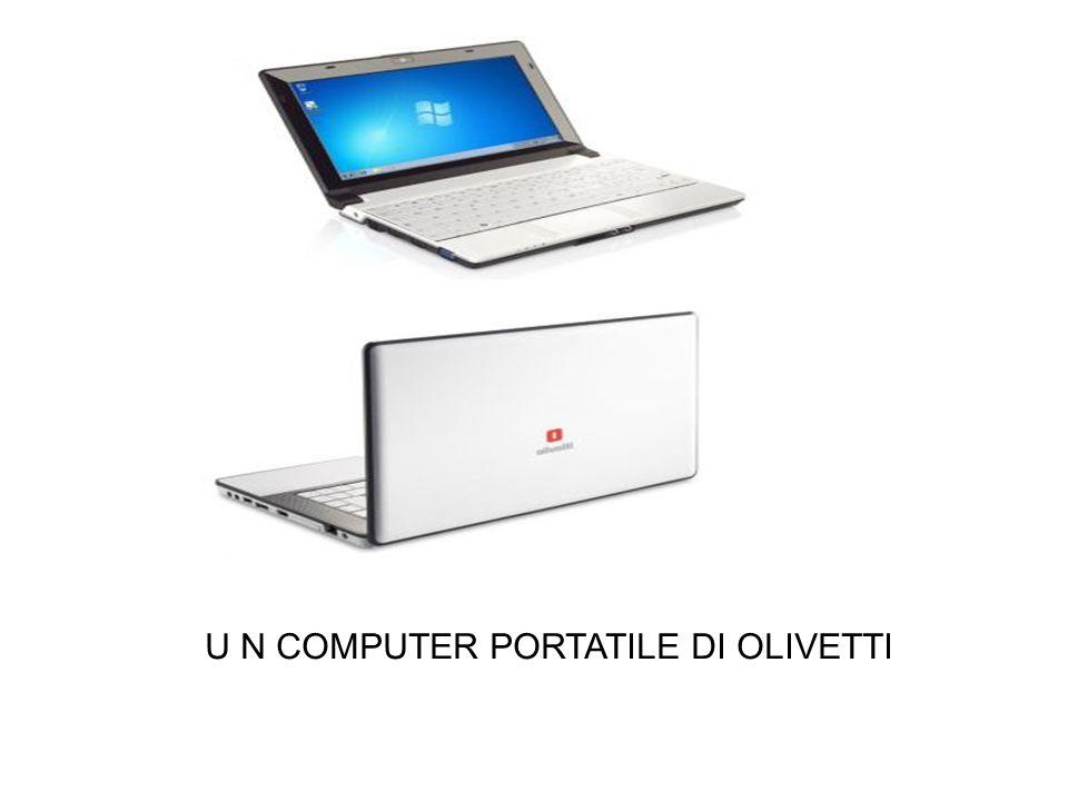 U N COMPUTER PORTATILE DI OLIVETTI