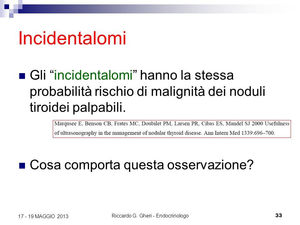 Riccardo G. Gheri - Endocrinologo