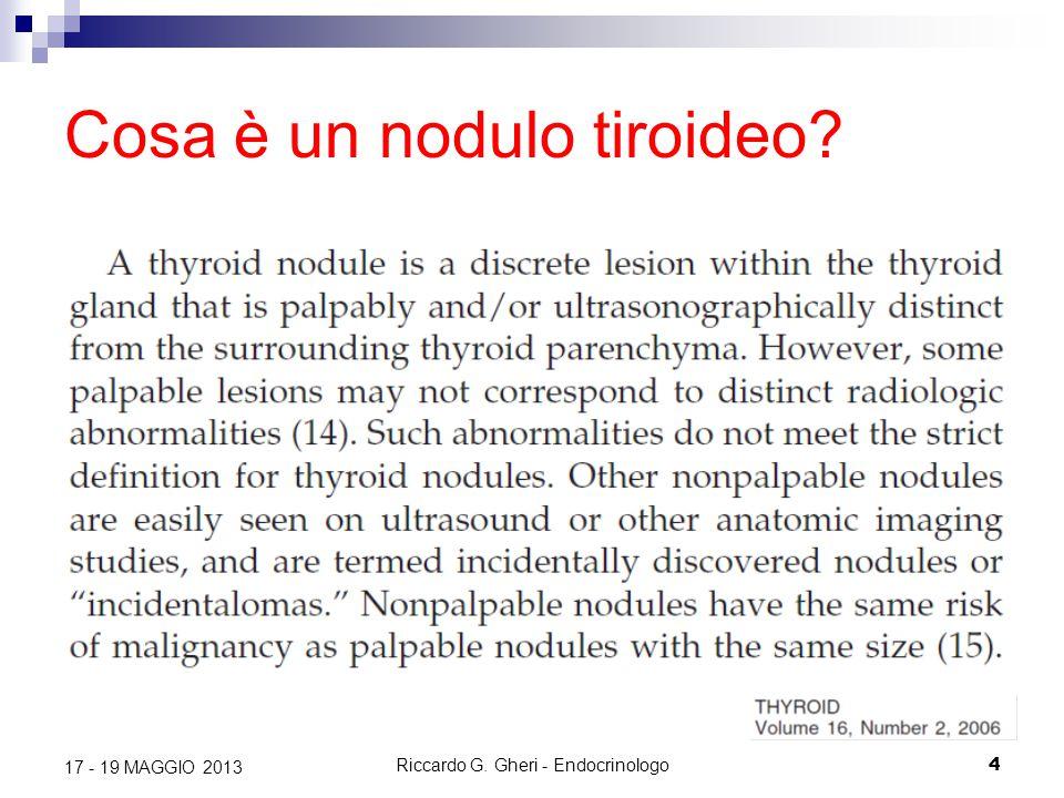 Cosa è un nodulo tiroideo