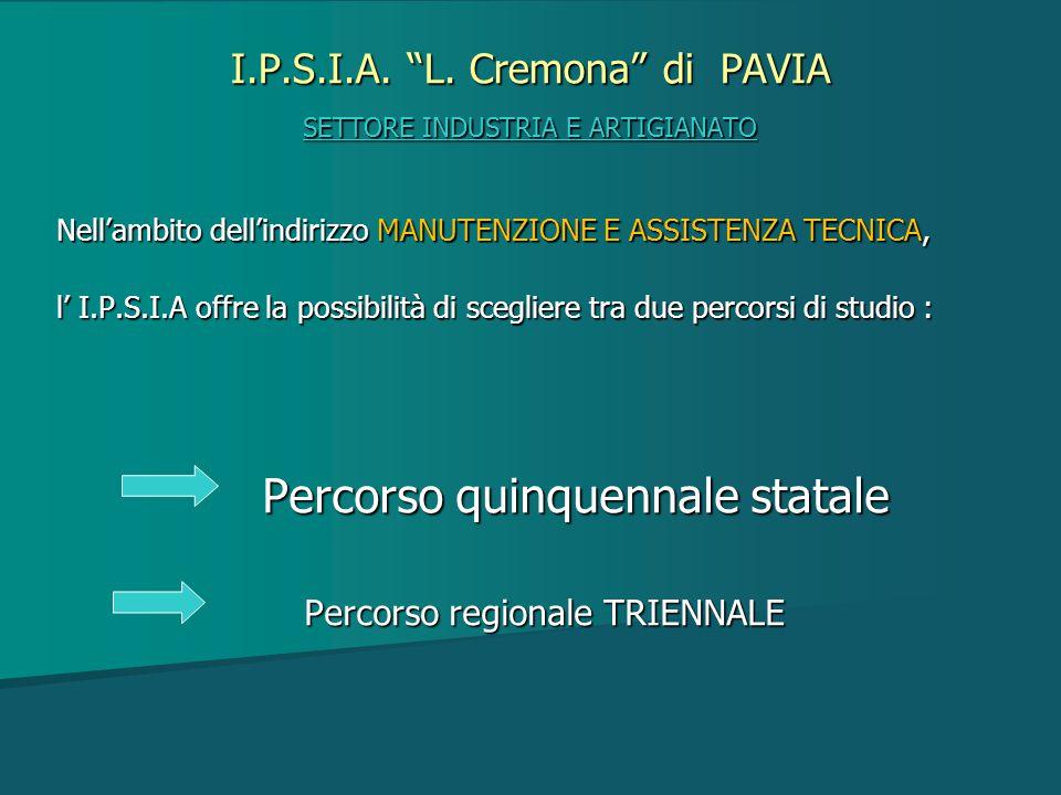 I.P.S.I.A. L. Cremona di PAVIA