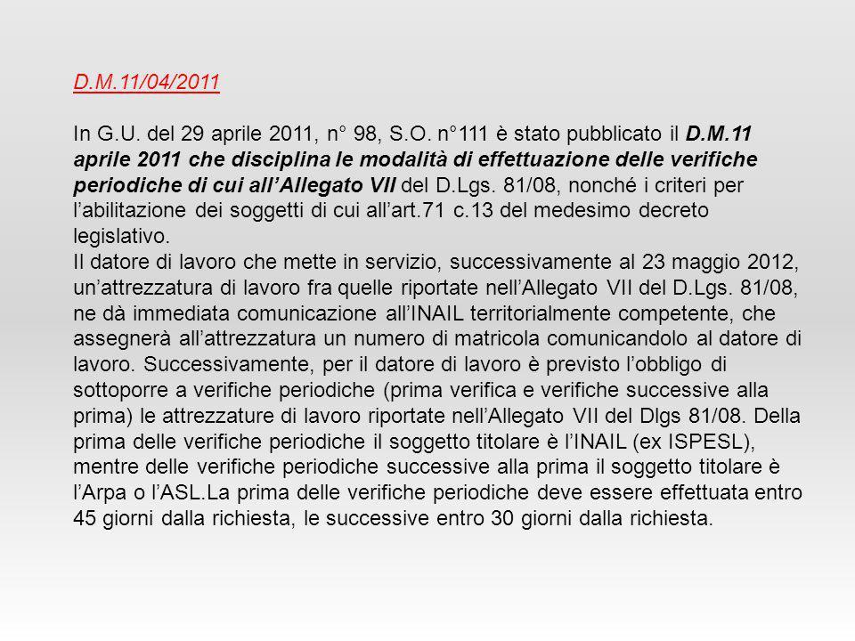 D.M.11/04/2011