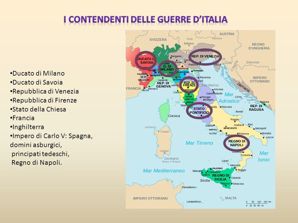 I contendenti delle guerre d'Italia