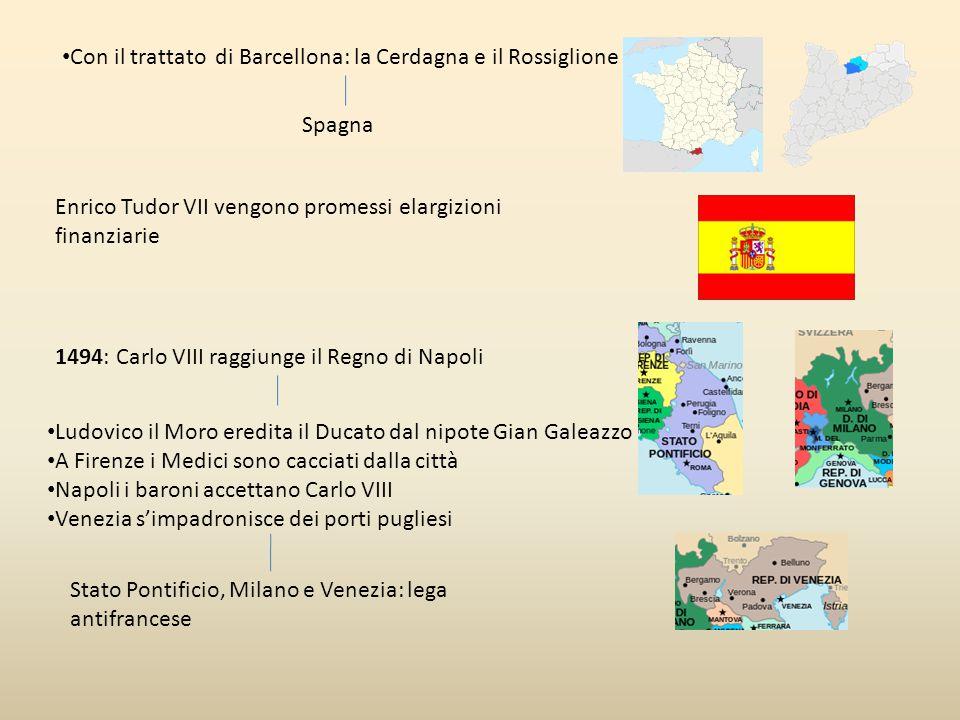 Con il trattato di Barcellona: la Cerdagna e il Rossiglione