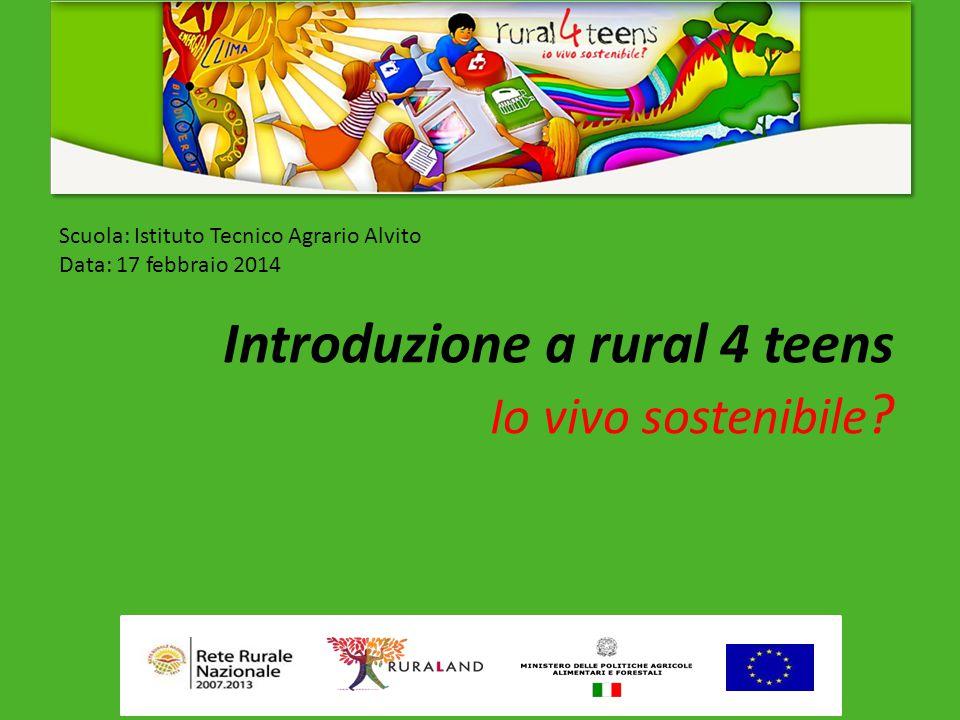 Introduzione a rural 4 teens