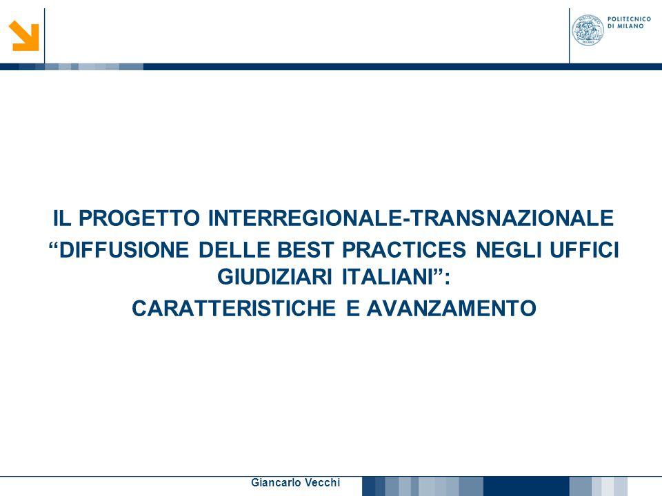 IL PROGETTO INTERREGIONALE-TRANSNAZIONALE