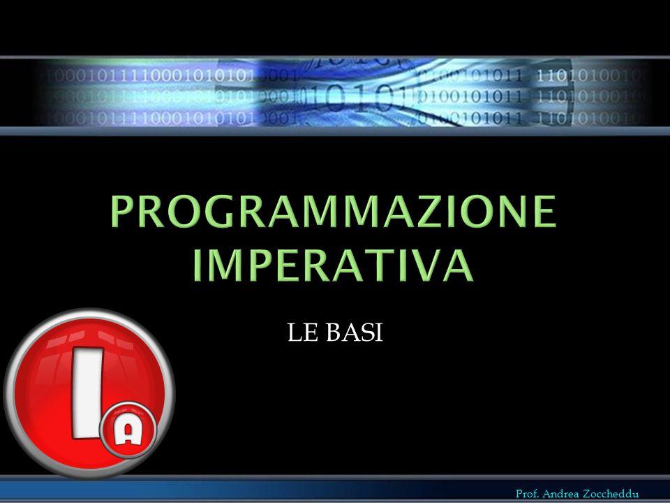 Programmazione imperativa
