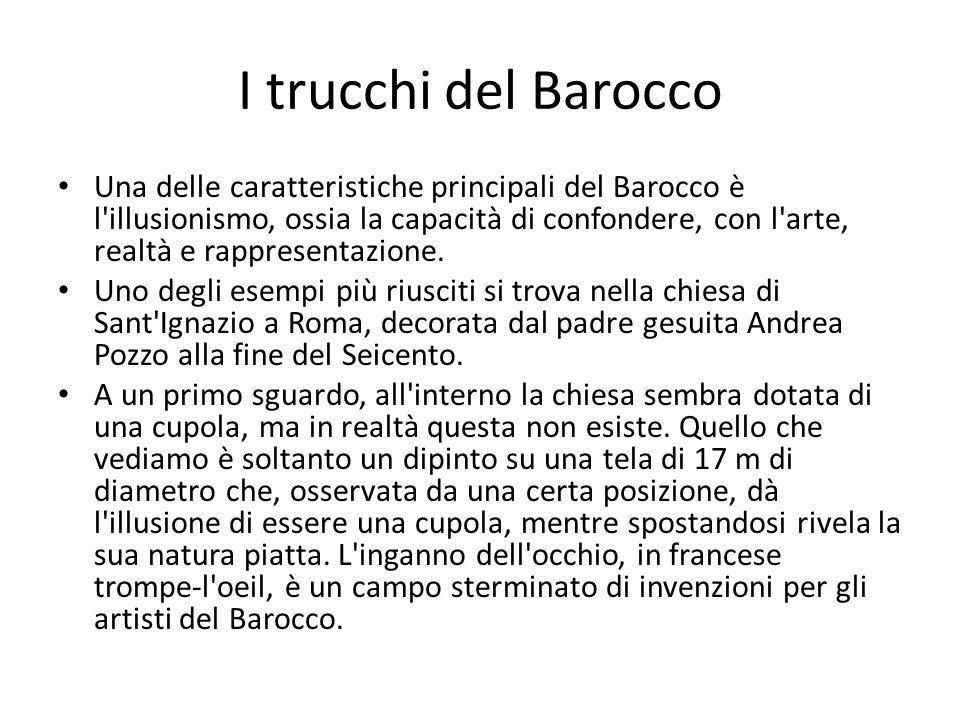 I trucchi del Barocco