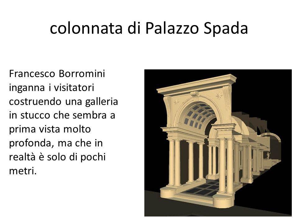colonnata di Palazzo Spada