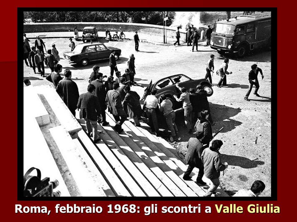 Roma, febbraio 1968: gli scontri a Valle Giulia