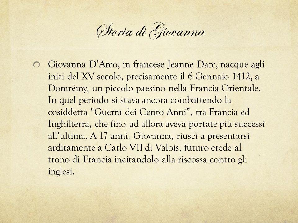 Storia di Giovanna