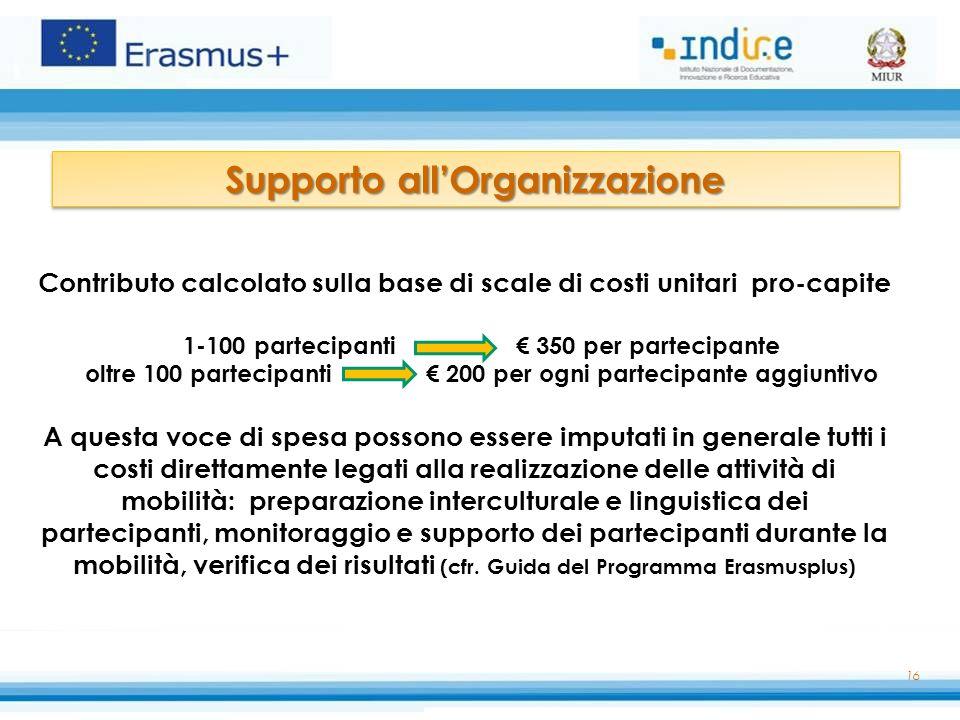 Supporto all'Organizzazione