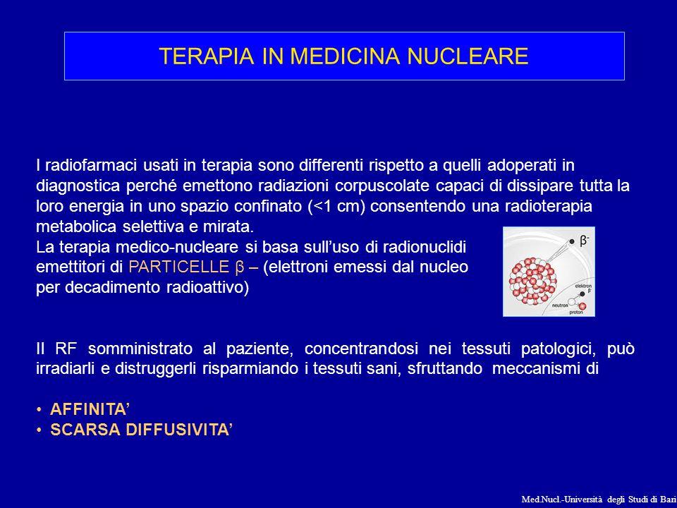 TERAPIA IN MEDICINA NUCLEARE