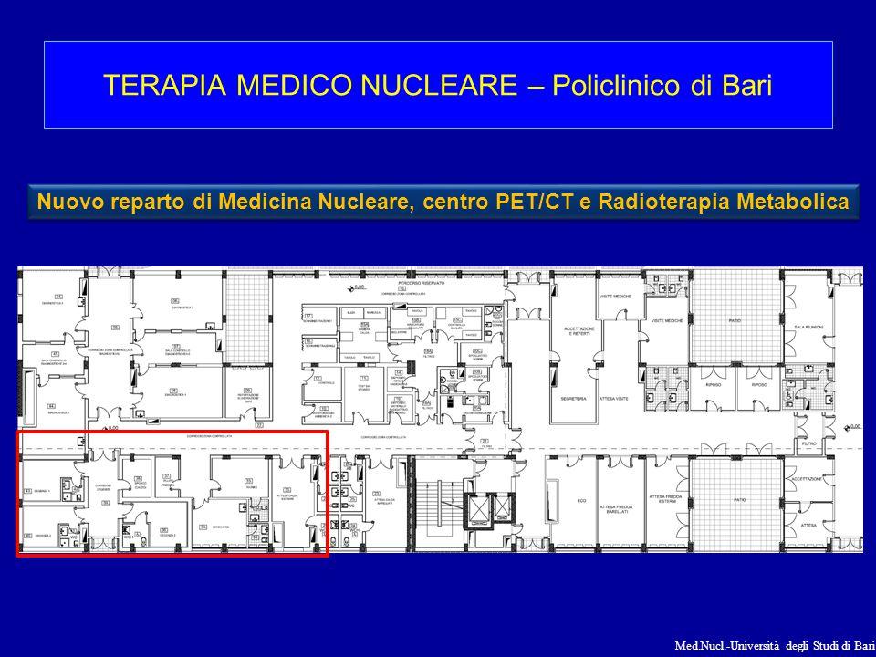 TERAPIA MEDICO NUCLEARE – Policlinico di Bari